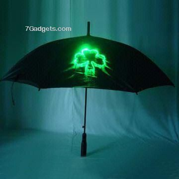 Optical fiber umbrella