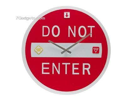Clock Do Not Enter