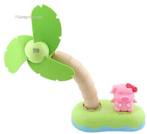 USB Miss Piggy Fan