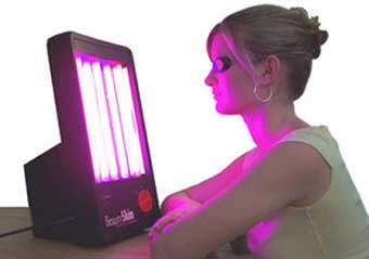 The BeautySkin Acne Treatment light therapy system