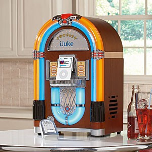 Crosley Tabletop iJuke Digital Jukebox Dock for iPod
