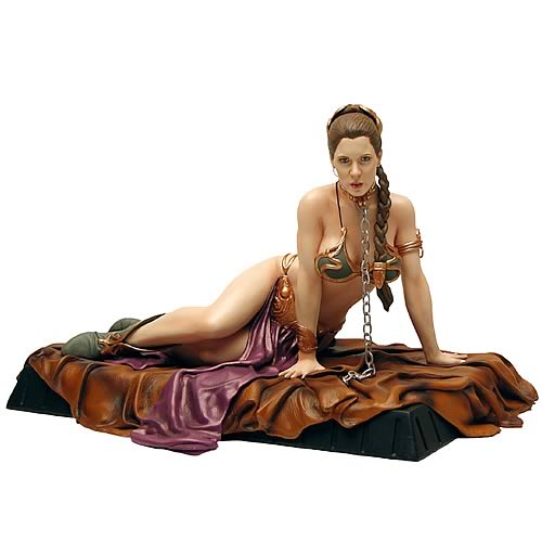 Star Wars Princess Leia as Jabba's Slave Statue | Gadgets