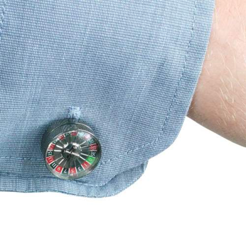 Roulette Wheel Cuff Links