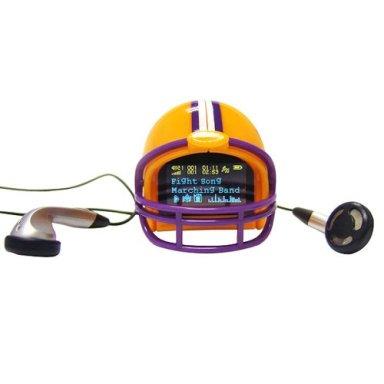 Helmet MP3 Player