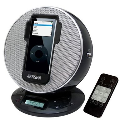 Jensen iPod Docking Station - Sphere