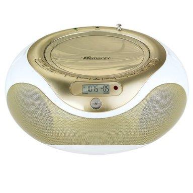 Memorex CD/MP3 Boom Box with Digital AM/FM Receiver