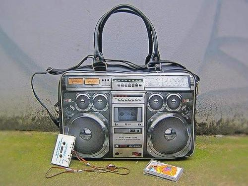 Ghetto Blaster Bag