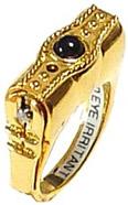 Pepper Spray Stunning Ring
