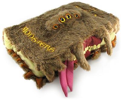 Harry Potter Monster Book of Monsters Plush