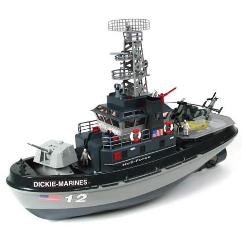 Dickie RC Navy Boat