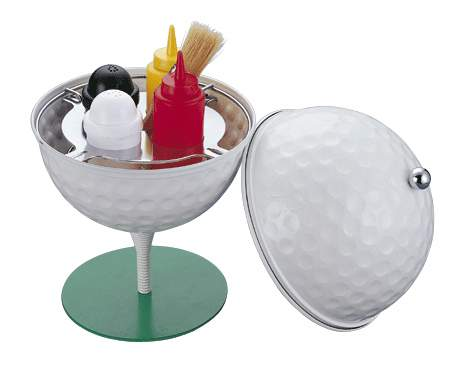 Golf Ball Condiment Set