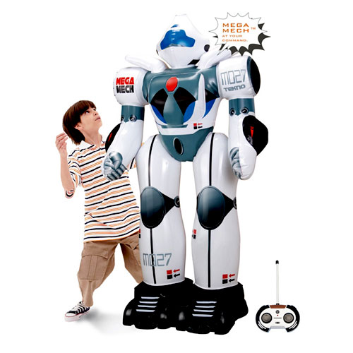 Inflatable R/C Robot