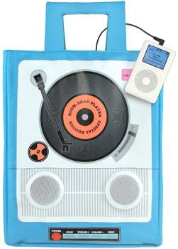 turn it up! iPod tote