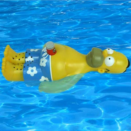 Homer Simpson Floating Bath Radio