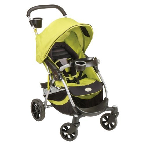 Stroller with iPOD DOK