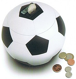 Football digital money bank