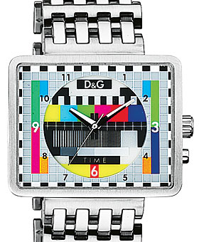 Medicine Man Bracelet Watch with Multicolored Dial