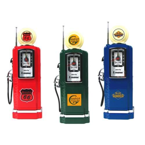 Gas Pump Radio Alarm Clock