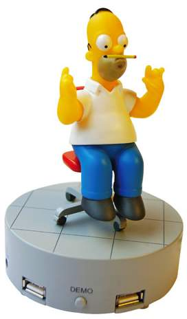 Homer Simpson  Multi USB Port