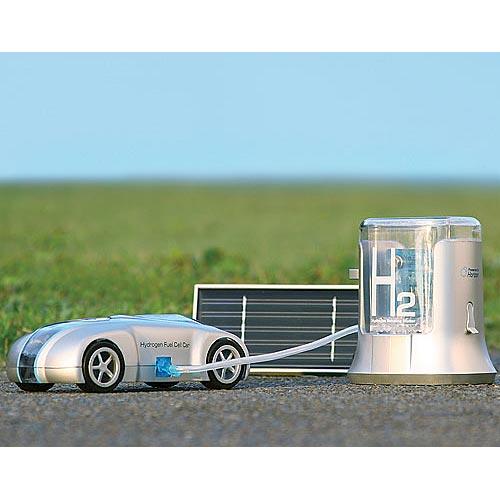 Sleek H-racer and Hydrogen Station