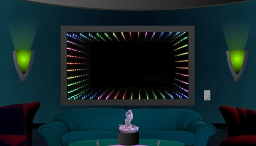 Light LED Infinity Mirror