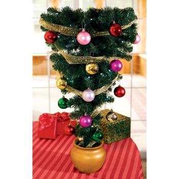 Table Top Upside Down Christmas Tree
