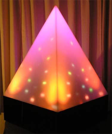 Light Energy Acrylic Pyramid