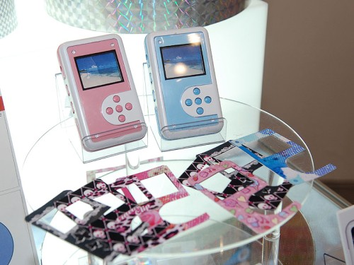 Media players for high school girls