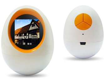 Egg Digital Photo Frame