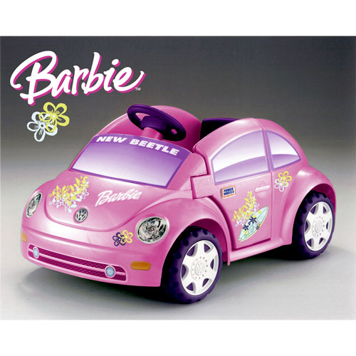 Barbie Volkswagen Beetle Ride-on
