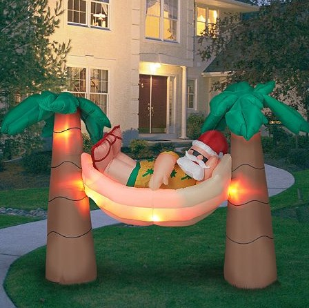 Palm Trees Airblown Inflatable