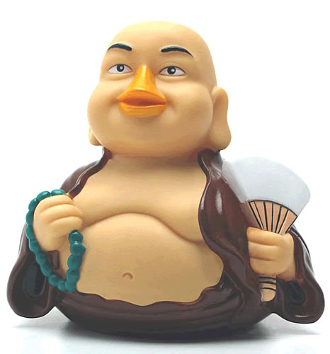 Budda CelebriDuck Rubber Duck Toy