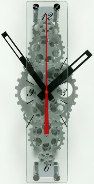 Oblong Gear Clock