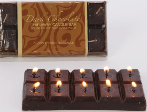 Chocolate Bar Candle