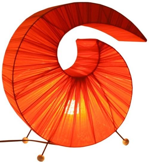Sunlover Crinkle Fabric Lamp