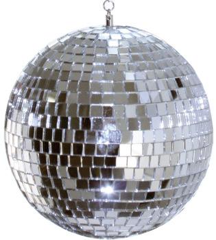 solar powered disco ball