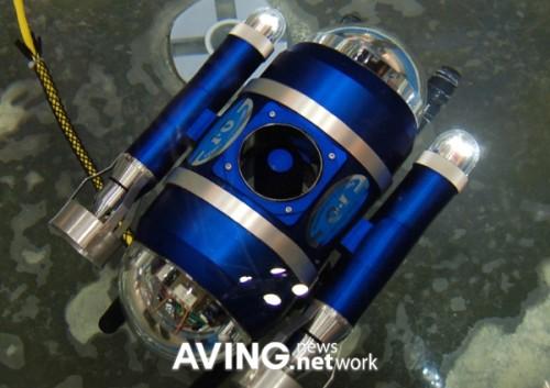 compact marine robot 'DELTA-100R'