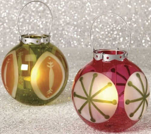 Christmas Ornament Luminaries