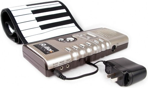 Roll Up Synthesizer Piano
