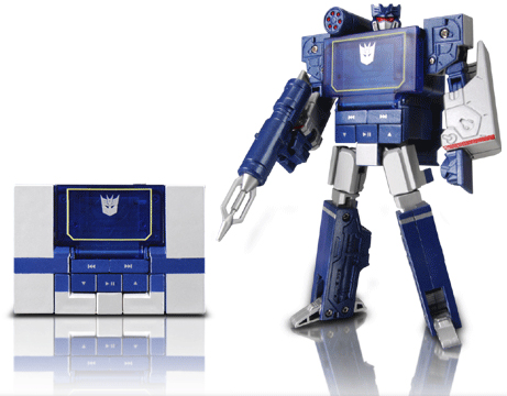 Transformers Music Label SoundWave MP3 Player