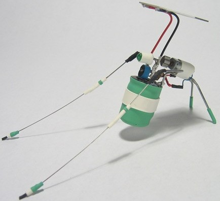 Solar VibraBot Micro Robot