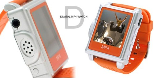 LCD MP4 Wrist Watch