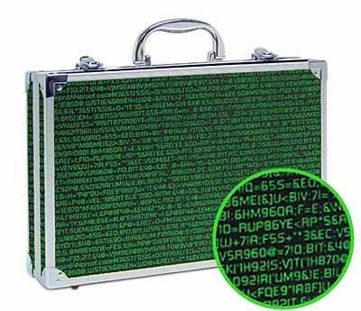Computer Code Briefcase