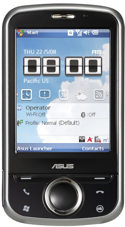 ASUS P320 Mini GPS PDA photo
