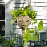 Face Jug Planter