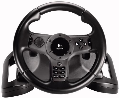Logitech Driving Force Wireless Force Feedback Racing Wheel