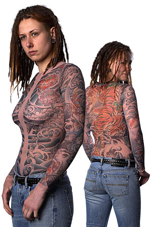 Sleeves Tattoo Clothing gives you the realistic illusion of tattoos!