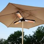 Patio Umbrella Heater