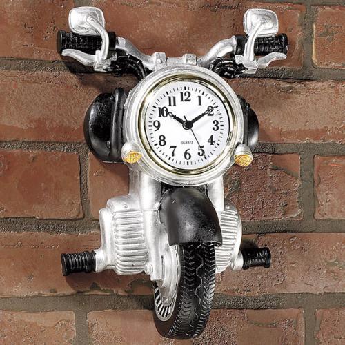 3d Motorcycle Wall Clock