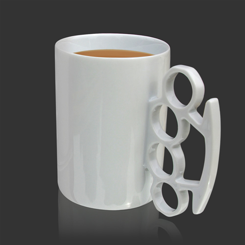 The Knuckle Duster Mug